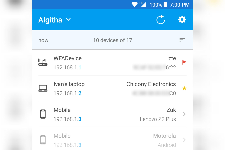 Identifikasi Perangkat Aktif Dalam Sebuah Jaringan Wi Fi Dengan Fing Aplikasyik