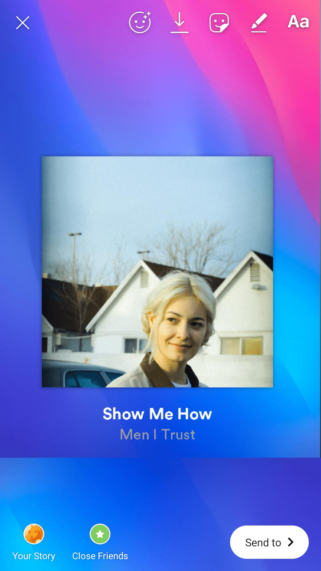 Spotify - Instagram Stories