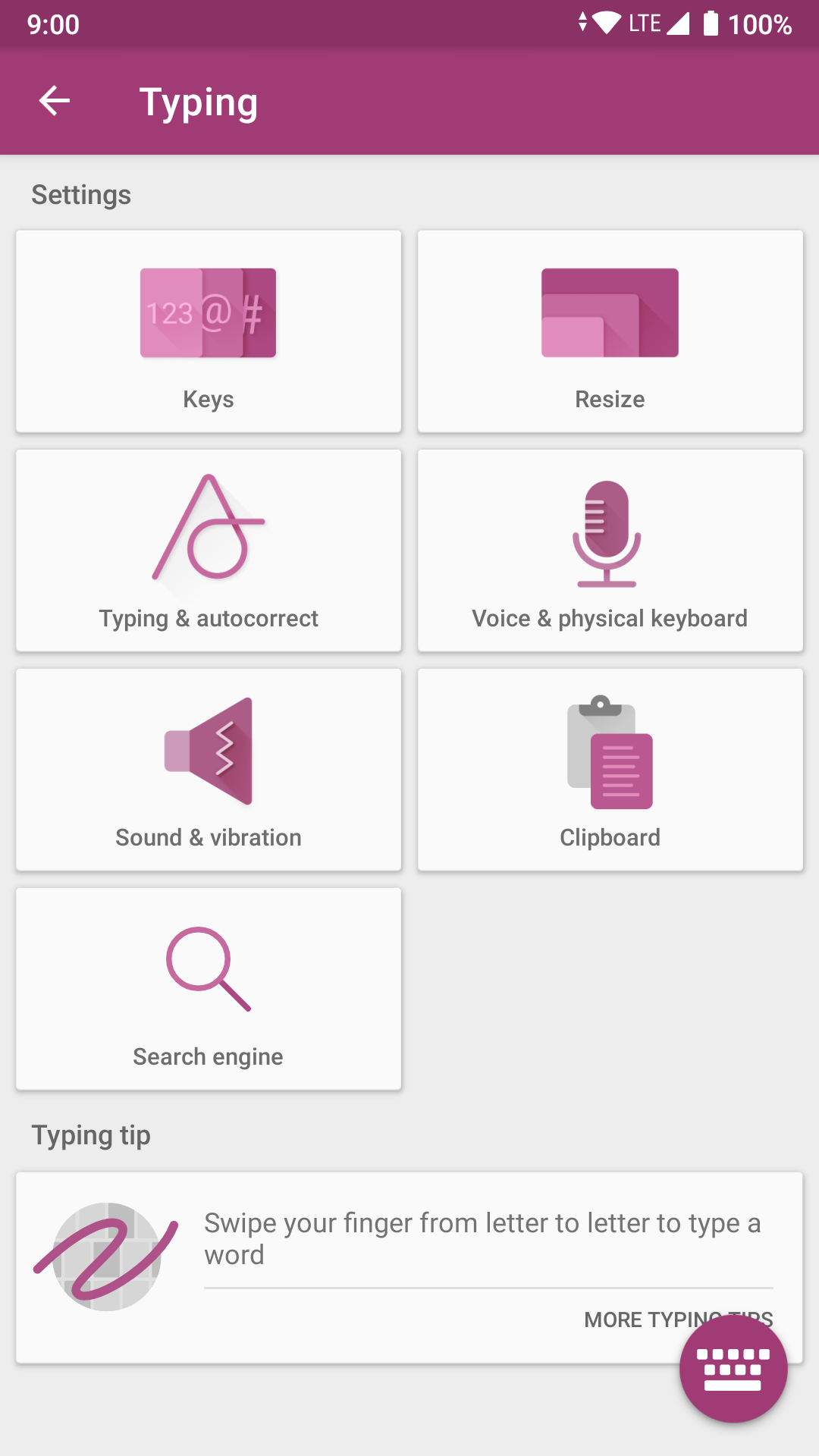 SwiftKey Keyboard Search