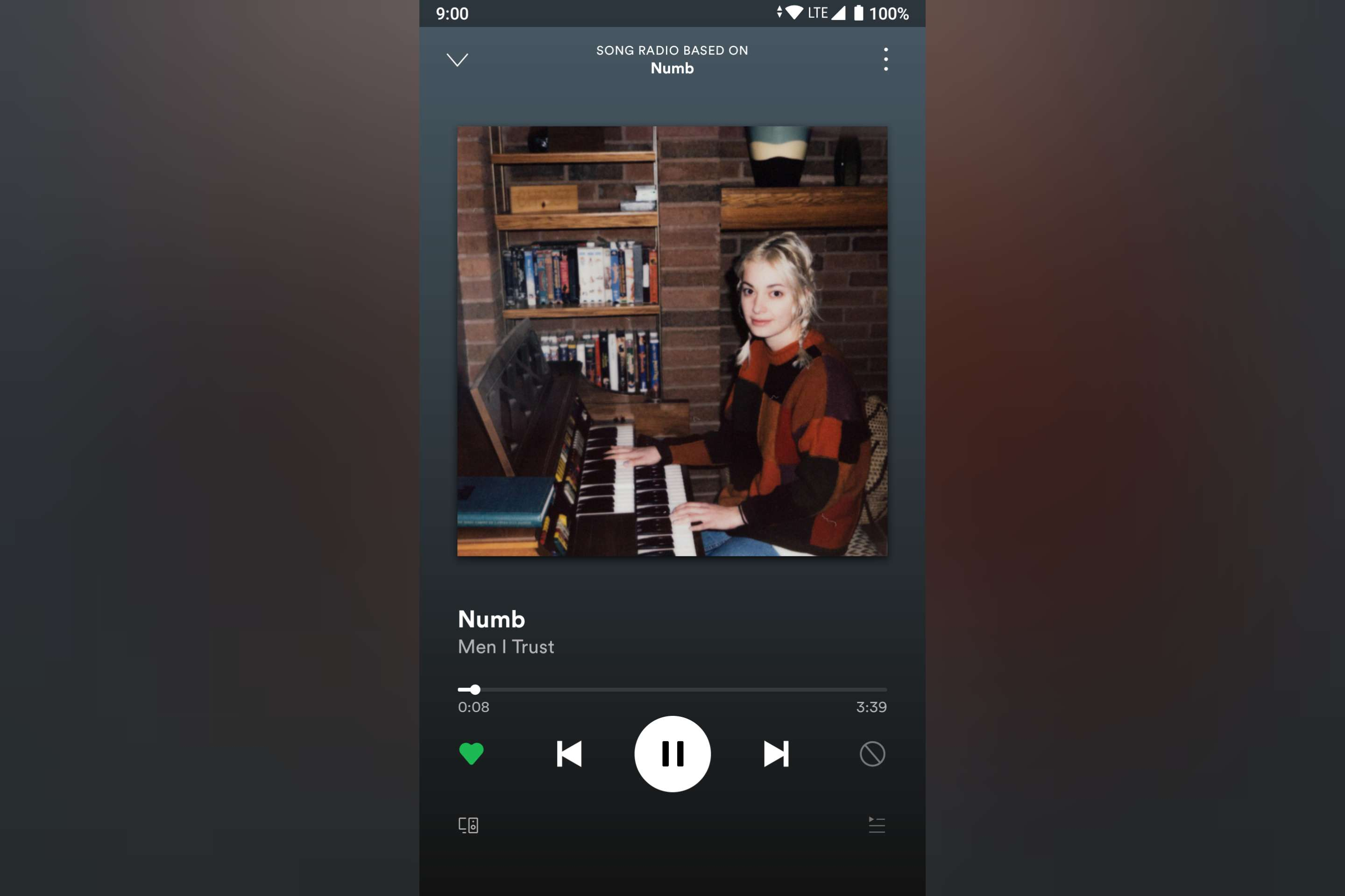 Spotify - Sleep timer