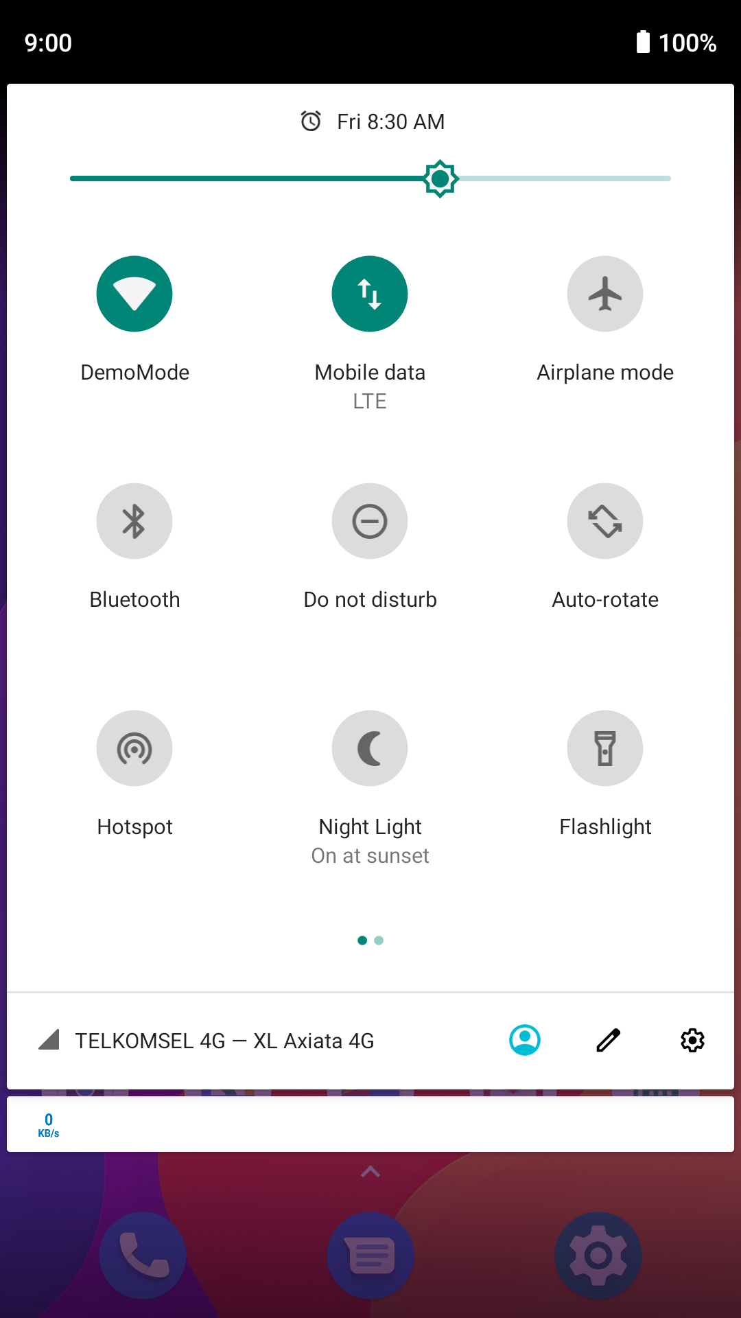 Android Quick Settings Tile