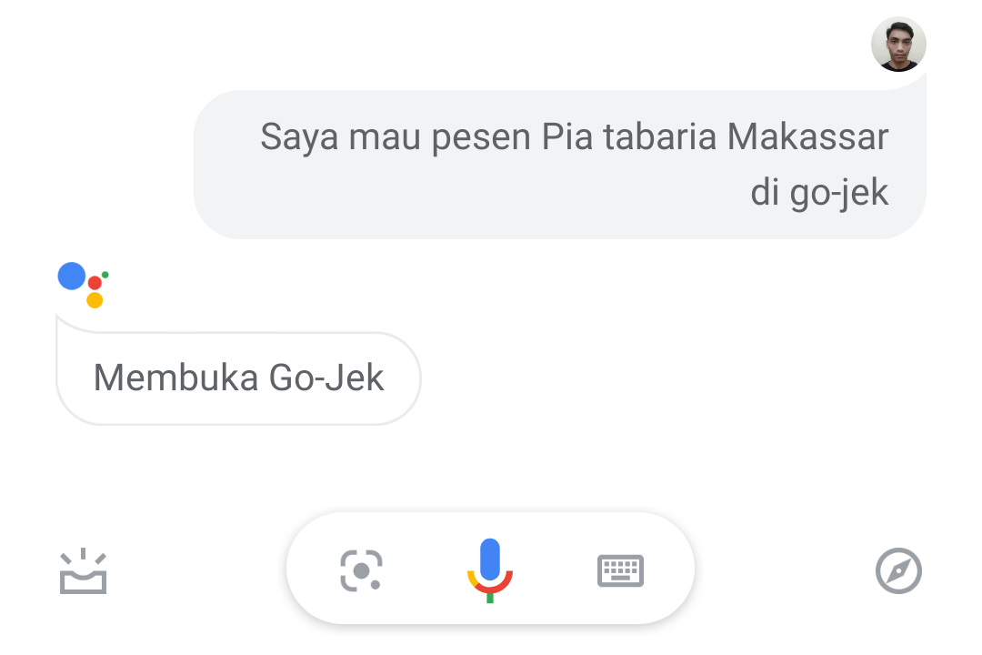 GoFood x Assistant