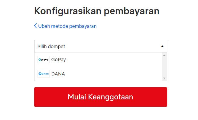 Netflix - Dompet digital